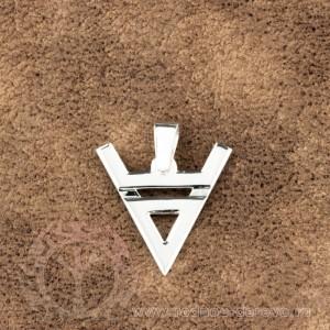 Символ велеса из серебра